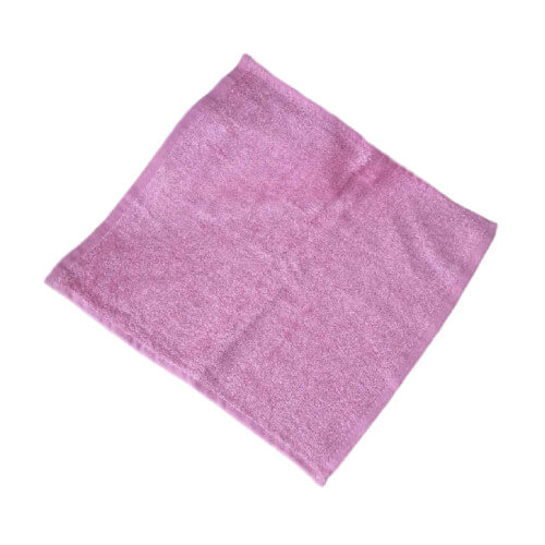 Newborn Baby Bamboo Washcloths Pink Color