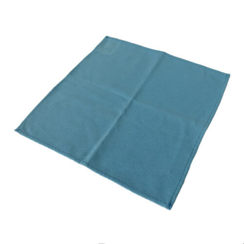 blue kitchen hand towels in microfiber material