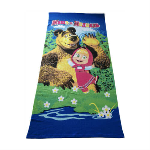 cartoon print microfiber beach towel 75x150cm1