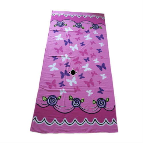 microfiber beach towel pink patterns