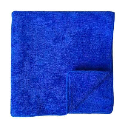 300gsm-40x40cm-blue microfiber cloths