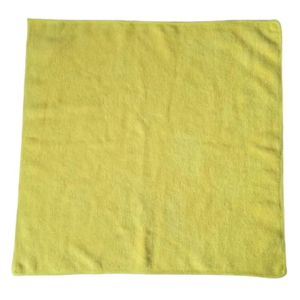 300gsm-40x40cm-yellow microfiber cloths
